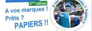 JEUX CONCOURS SUR LE TRI PAPIER :