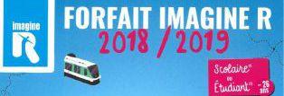 - Carte IMAGINE R 2018 2019